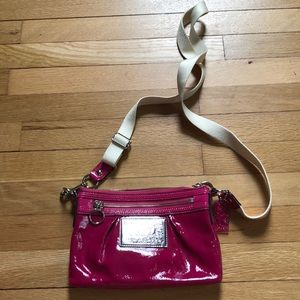 Patent Pink Coach Poppy Crossbody